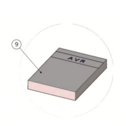 KIT AVR PROGRAMMER - USB COMPLETE